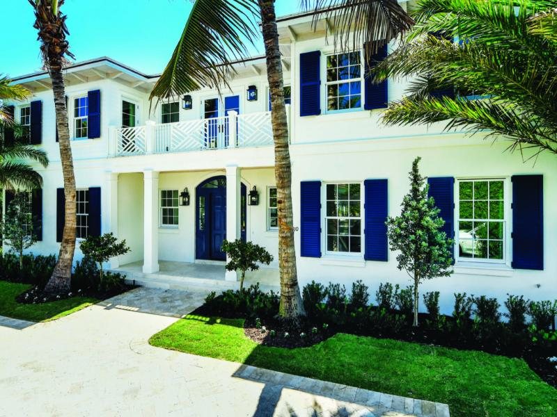 Impact windows and doors palm beach custom home