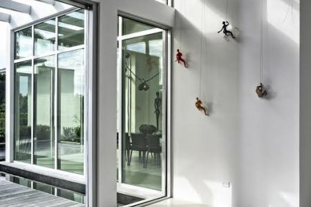 Modern hurricane impact windows and doors