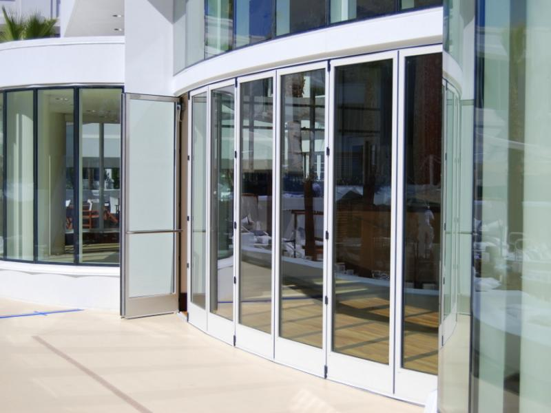 Panda Windows u0026 Doors specializes in custom building sliding and folding glass door systems of numerous configurations for large architectural openings. & Window and Door Design Center of Florida